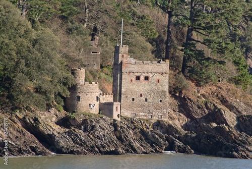Photo  dartmouth castle