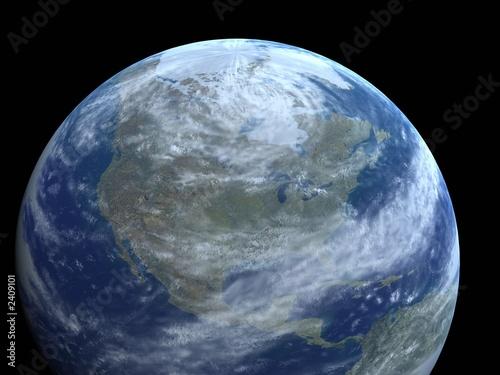 Deurstickers Nasa our earth