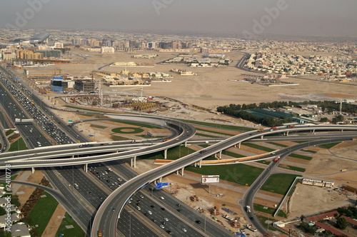 Carta da parati dubai sheik zayed road 2