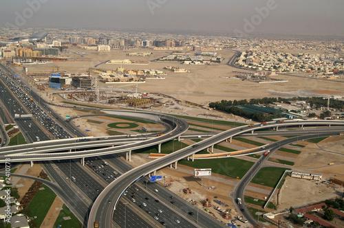 dubai sheik zayed road 2 Fototapete