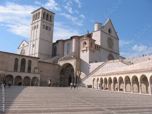 Photo basilica superiore di assisi