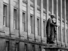 St Georges Hall, Liverpool Sculpture In Garden