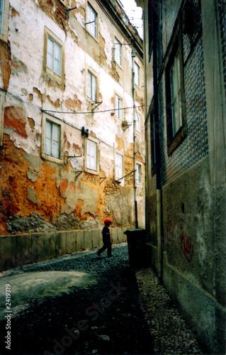 Fototapety, obrazy: lisbon street