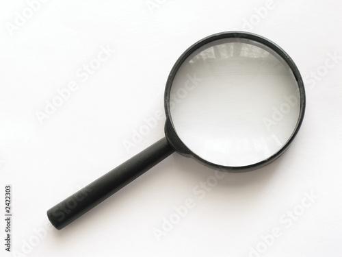 Fotografie, Tablou  magnifying glass