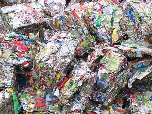 déchets compactés © lucastor