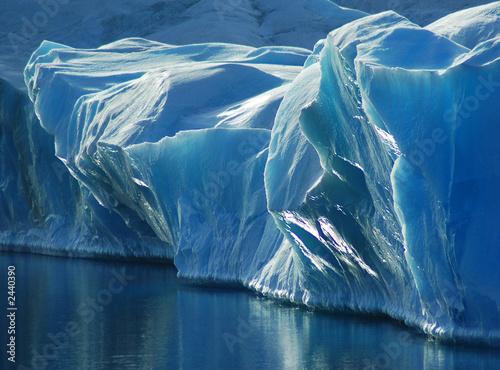 Foto auf Gartenposter Antarktika blue ice