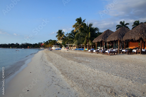Fotografie, Obraz  jamaica beach resort