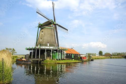 Poster Molens windmill in zaanse schans
