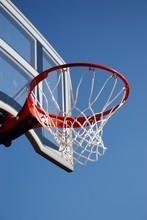 Outdoor Basketball Backboard And Net