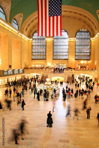 Fotografía grand central station