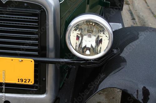 Fotografie, Tablou  black classic car