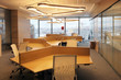 canvas print picture - interior of modern office