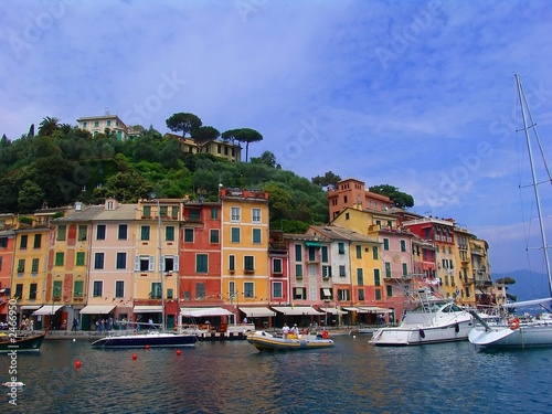 Fotobehang Liguria portofino