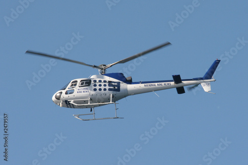 Tuinposter Helicopter granville helicopter