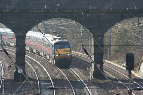 Fotografie, Tablou  express train
