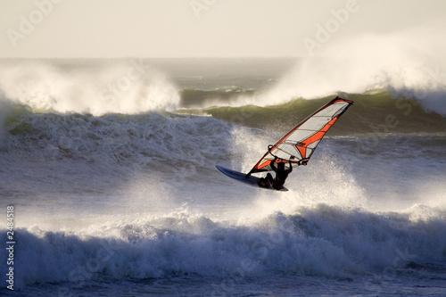 wavesailing