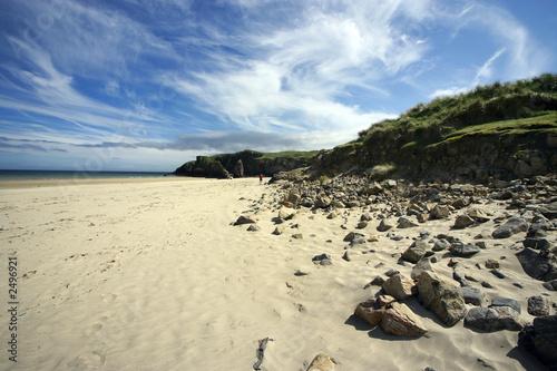 Fotografie, Obraz  stornoway beach1