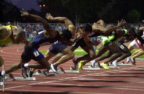 Fotografie, Obraz  track  &field