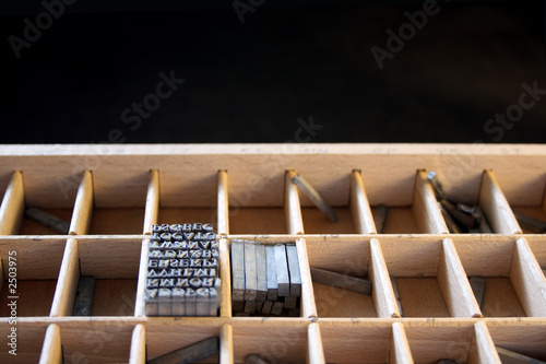 Fotografia, Obraz  type drawer 2