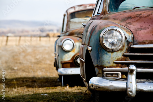 Photo Stands Vintage cars vintage car