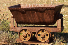 Old Mine Cart