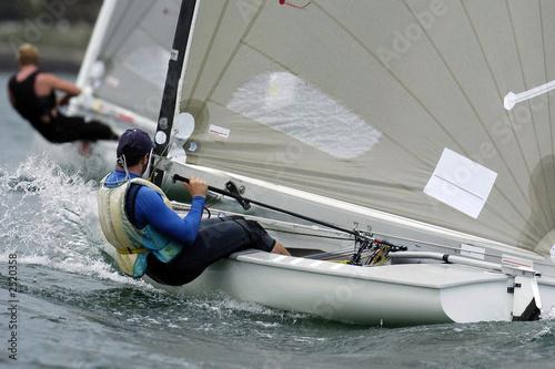 Cadres-photo bureau Voile sailing finn 04