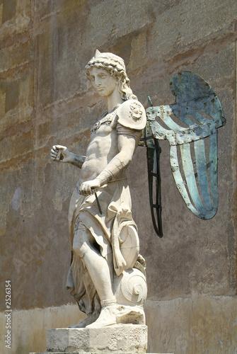 Canvastavla sculpture of icarus