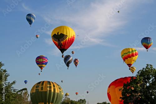 Valokuva  hot air balloons