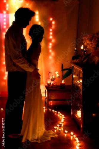 Foto op Plexiglas Wand couple