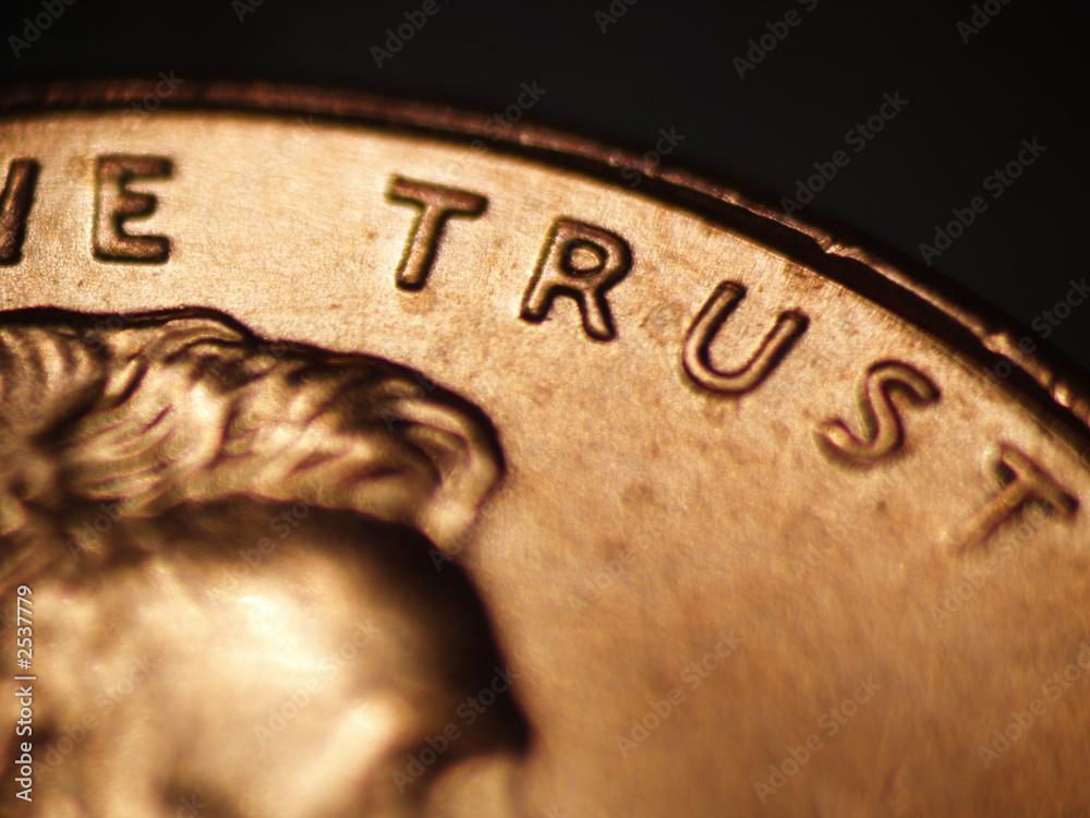 Fototapeta trust