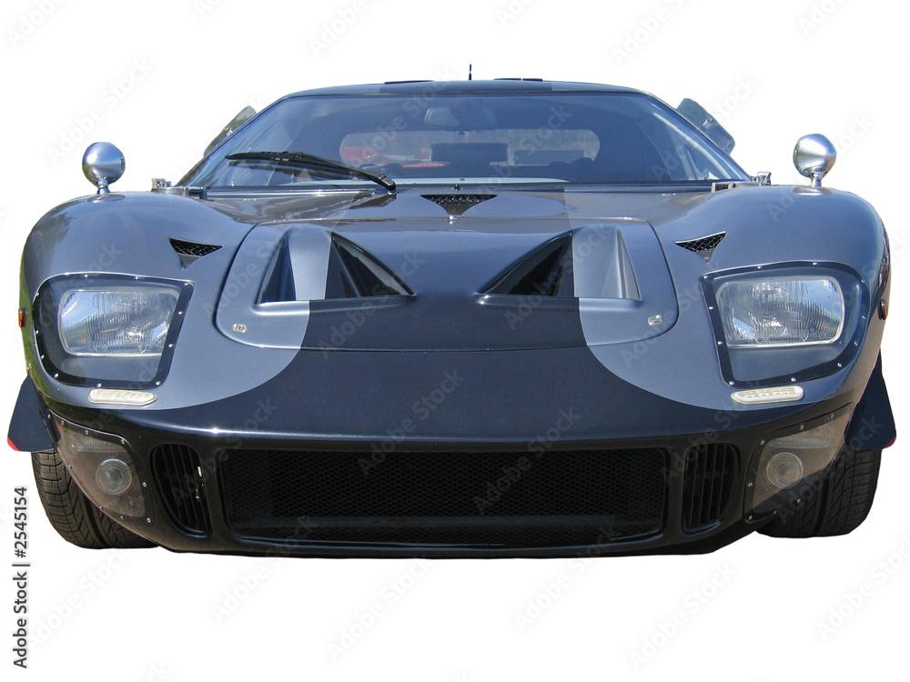 Foto-Doppelrollo - low grey american supercar