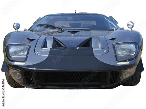 einzelne bedruckte Lamellen - low grey american supercar (von Christopher Nolan)