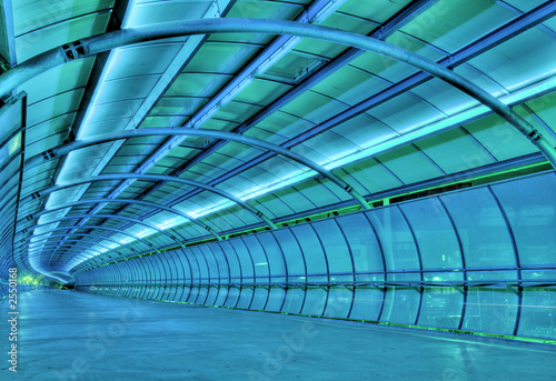 Papiers peints Tunnel futuristic tunnel