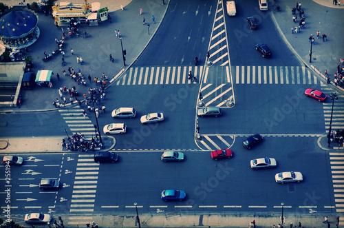 Valokuva  street traffic