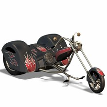 Trike, Motorbike With Three Wh...
