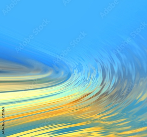 Papiers peints Fractal waves abstraction background