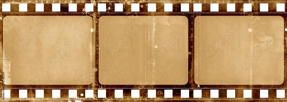 Fototapety, obrazy: grunge film frame