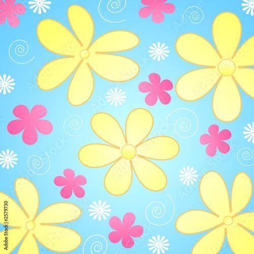 einzelne bedruckte Lamellen - flowers (von Elena Schweitzer)