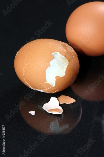 Foto op Plexiglas fresh cracked egg