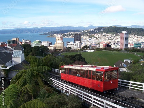 la cable car de wellington en nouvelle zelande