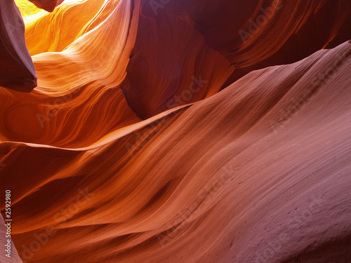 Recess Fitting Magenta the lower antelope slot canyon near page