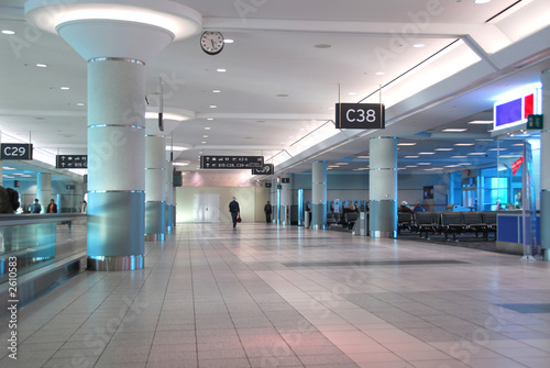 Recess Fitting Airport airport interior