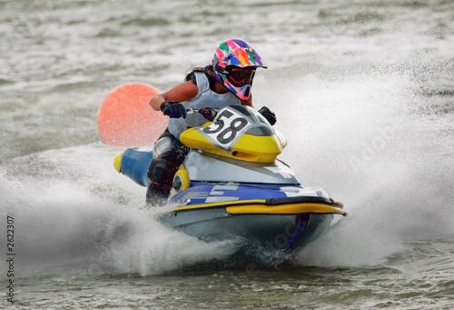 Garden Poster Water Motor sports jetbike