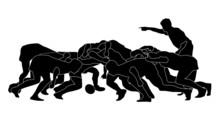 Rugby Scrum_full_black Silhoutte