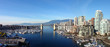 canvas print picture - vancouver panoramic