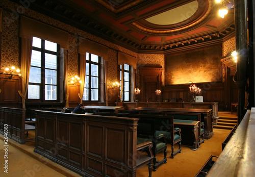 Obraz court room - fototapety do salonu