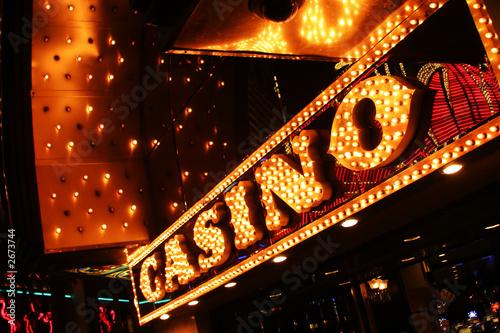 Fotografie, Obraz  las vrgas neon casino sign
