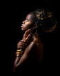 canvas print picture - african beauty