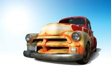 Funky Vintage American Truck