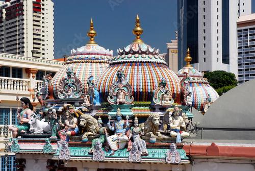 Tuinposter Singapore sri mariamman temple singapore